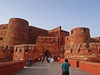 Agra : le Fort Rouge