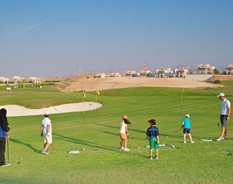 Golf au Muscat Hills & Country Club