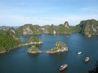 panorama baie d'ha long