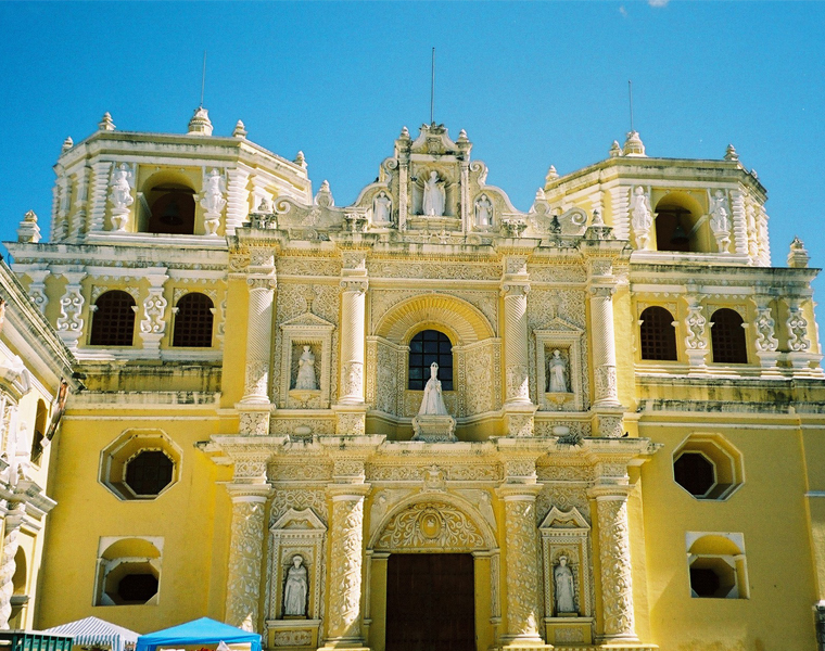 Eglise de la Merced à Antigua