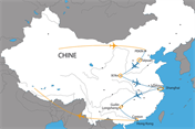 Carte du circuit Civilisations Chinoises
