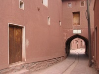 Centre-ville d'Abyaneh