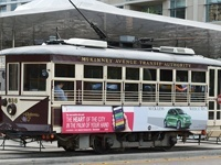Trolley à Dallas