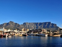 panorama du port de cape town
