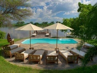 Piscine du Kanyemba Lodge