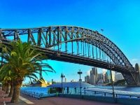 pont Harbour Bridge Sydney splendeur australienne