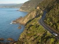 route panoramique de la great ocean road