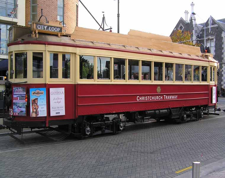 Le Tramway de Christchurch